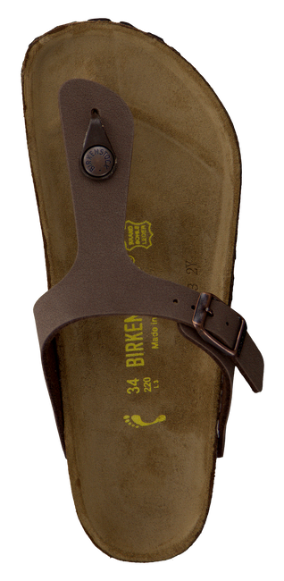 BIRKENSTOCK PAPILLIO Tongs GIZEH KIDS en marron - large