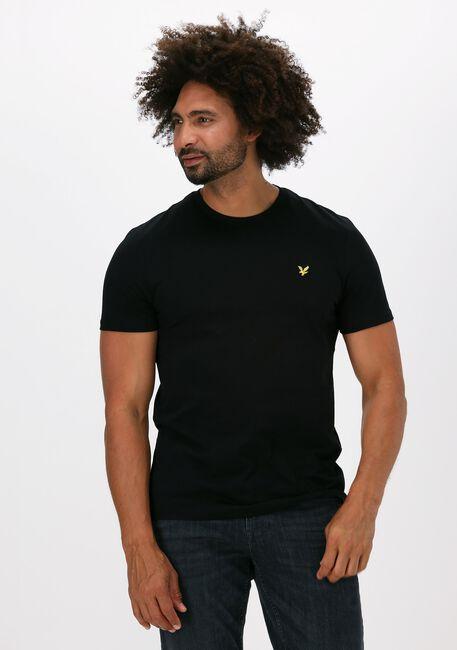Zwarte LYLE & SCOTT T-shirt PLAIN T-SHIRT - large