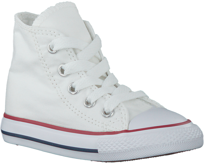 CONVERSE Baskets CTAS HI KIDS en blanc - large