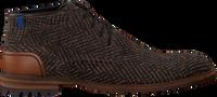 FLORIS VAN BOMMEL Chaussures à lacets 20102 en marron  - medium