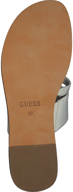 Witte GUESS Slippers GENERA  - large