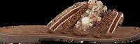 Taupe LAZAMANI Slippers 75.704  - medium