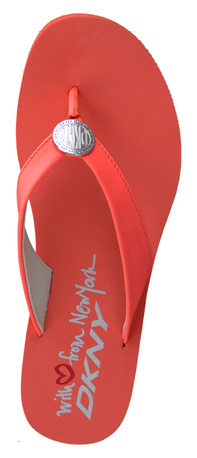 DKNY Tongs TOKEN en orange - large