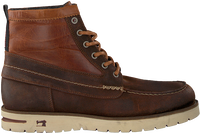 SCOTCH & SODA Bottines à lacets LEVANT en cognac  - medium