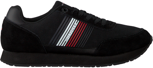 TOMMY HILFIGER Baskets basses CORPORATE RUNNER en noir  - large