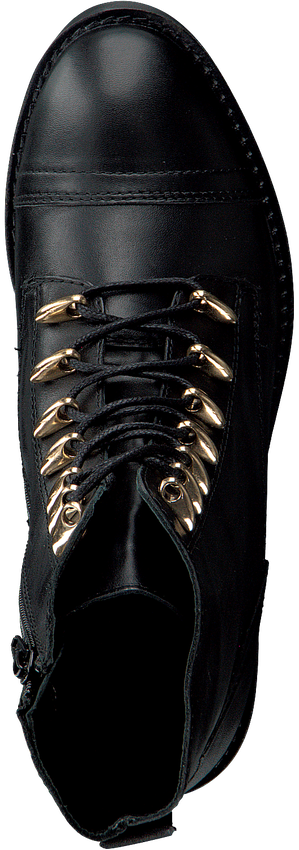 OMODA Bottines à lacets 16078 en noir - larger
