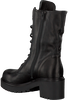 VIA VAI Bottines à lacets 4905078 en noir - small
