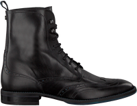 FLORIS VAN BOMMEL Bottines à lacets 85631 en noir  - medium