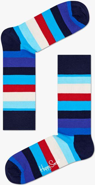 HAPPY SOCKS Chaussettes STRIPE en bleu - large