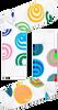 HAPPY SOCKS Chaussettes HYPNOSIS en blanc  - small