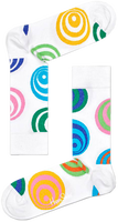 HAPPY SOCKS Chaussettes HYPNOSIS en blanc  - medium