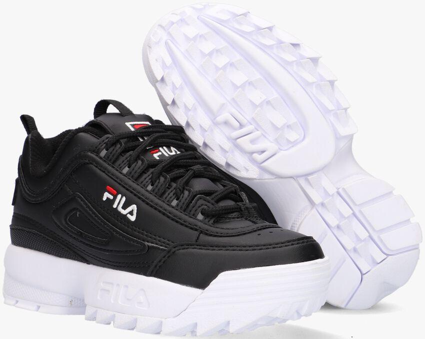 FILA Baskets DISRUPTOR KDS en blanc - larger