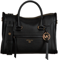 MICHAEL KORS Sac à main MD SATCHEL en noir  - medium