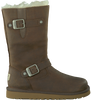 UGG Bottes fourrure KENSINGTON KIDS en marron - small