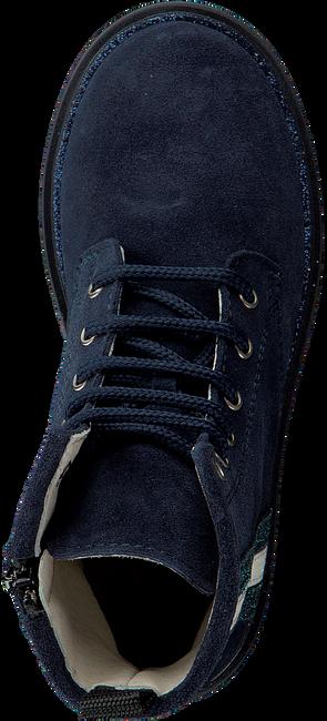 OMODA Bottines à lacets B2045 en bleu - large