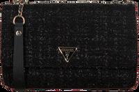 Zwarte GUESS Schoudertas CESSILY CONVERTIBLE XBODY FLAP  - medium