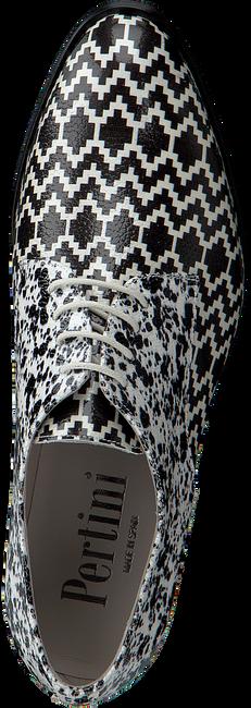 PERTINI Chaussures à lacets 15900 en noir  - large