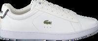 Witte LACOSTE Sneakers CARNABY EVO DAMES  - medium