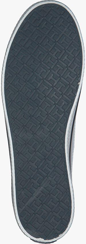 TOMMY HILFIGER Baskets CORPORATE FLATFORM SNEAKER en blanc  - larger