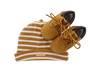 TIMBERLAND Chaussures bébé CRIB BOOTIE W/HAT en camel - small