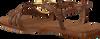 MIREIA PLAYÀ Sandales HERMOSA en cognac  - small