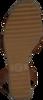 TOMMY HILFIGER Sandales TH RAFFIA HIGH WEDGE en cognac  - small
