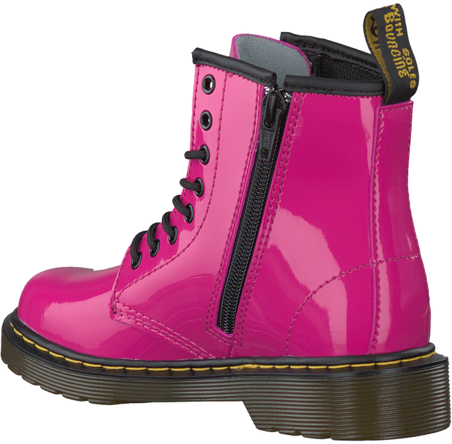 DR MARTENS Bottines à lacets DELANEY/BROOKLY en rose - large