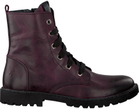 OMODA Bottines à lacets 18998 en violet - medium