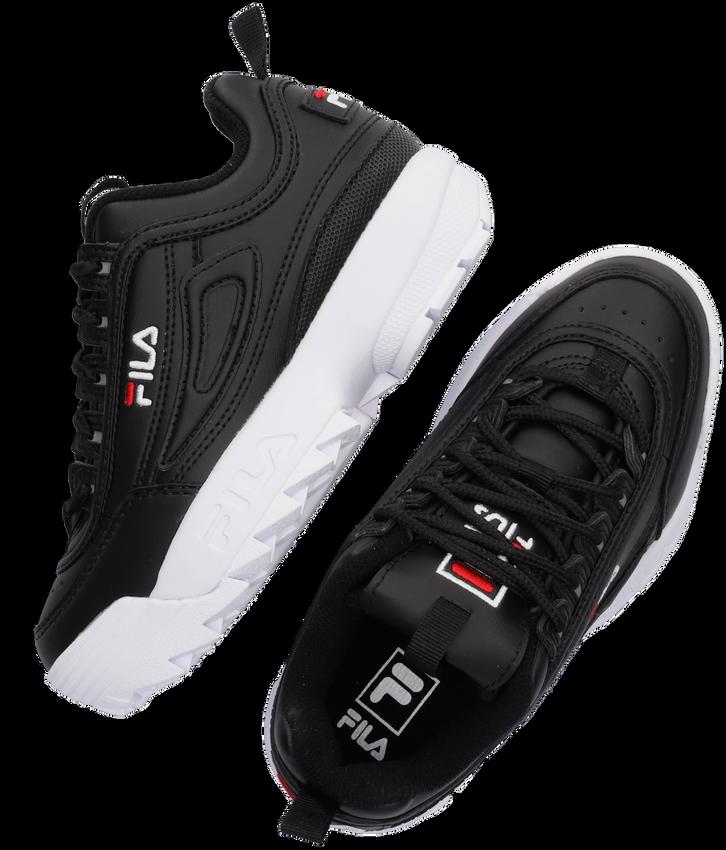 Zwarte FILA Sneakers DISRUPTOR KDS - larger