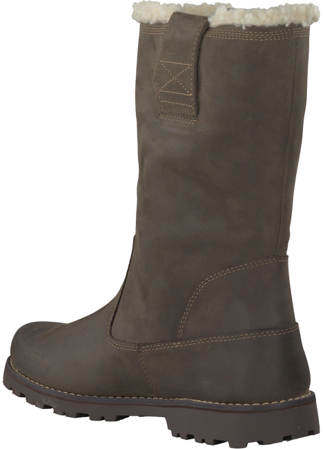 TIMBERLAND Bottes hautes 8'INCH PULL ON WATERPROOFSHEAR en marron - large