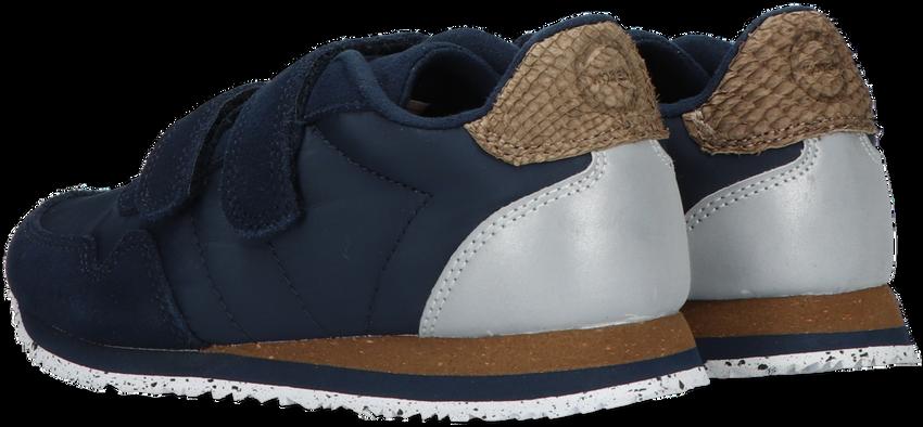 Blauwe WODEN Lage sneakers NOR SUEDE  - larger
