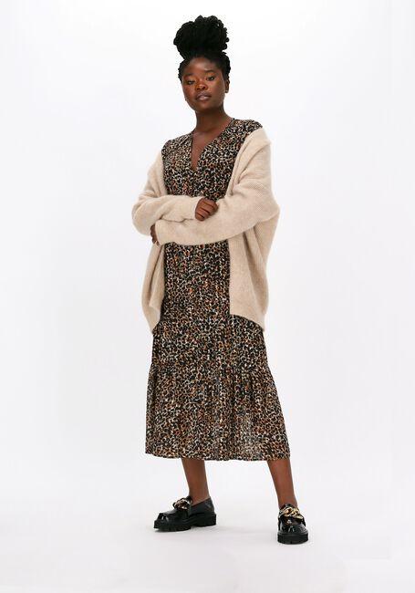 Multi SECOND FEMALE Maxi jurk ERNA FITTED DRESS  - large
