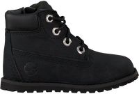 TIMBERLAND Bottines à lacets POKEY PINE 6IN BOOT KIDS en noir  - medium
