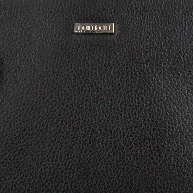 LOULOU ESSENTIELS Sac bandoulière 12POUCH en noir  - large