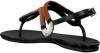 AREZZO Sandales A0327401060001U en noir  - small