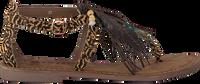 LAZAMANI Sandales 75.539 en marron  - medium