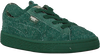 PUMA Baskets PUMA X TC BASKET FURRY en vert - small