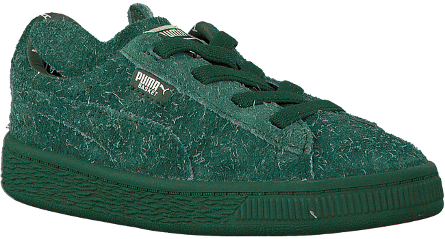 Groene PUMA Sneakers PUMA X TC BASKET FURRY  - large