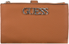Cognac GUESS Portemonnee UPTOWN CHIC SLG  - small
