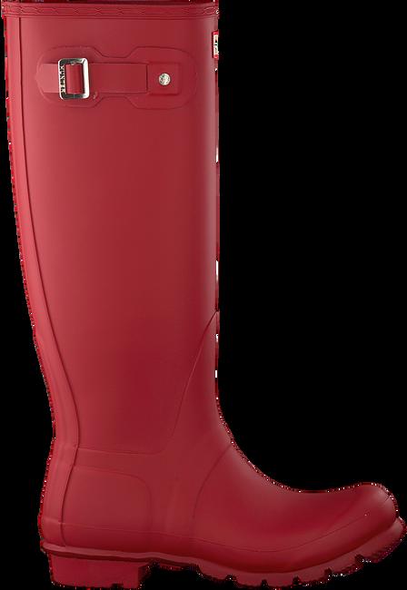 HUNTER Bottes en caoutchouc WOMENS ORIGINAL TALL en rouge - large