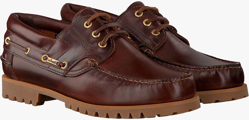 VAN BOMMEL Chaussures à lacets 1047 en marron - larger