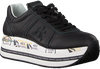 PREMIATA Baskets basses BETH en noir  - small