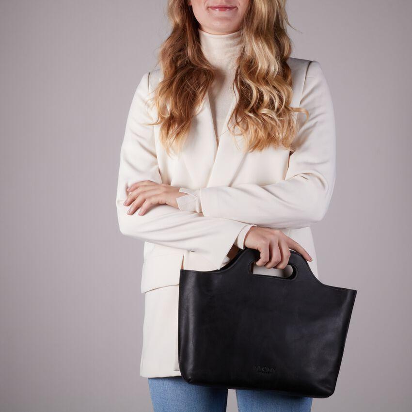 MYOMY Sac à main MY CARRY BAG HANDBAG en noir - larger