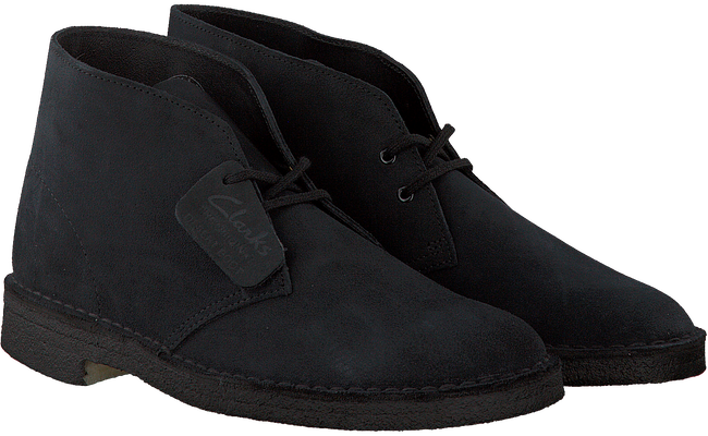 CLARKS Bottillons DESERT BOOT HEREN en bleu - large