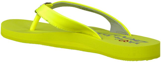 DKNY Tongs TOKEN en jaune - large