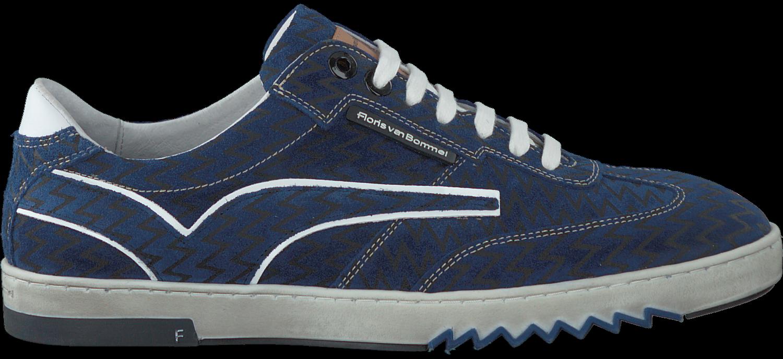 d477a8eacacbab Blauwe FLORIS VAN BOMMEL Sneakers 16074 - Omoda.be