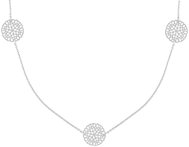 JEWELLERY BY SOPHIE Collier NECKLACE LITTLE ROUNDS en argent - large