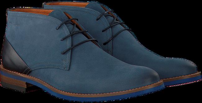 VAN LIER Richelieus 5341 en bleu - large