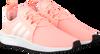 ADIDAS Baskets X_PLR J en rose - small