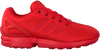 Rode ADIDAS Lage sneakers ZX FLUX J  - small